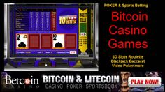 Tens Or Better Video Poker @ Bitcoin Casino Games, Bitcoins Casino Games http://www.betcoinpartners.com/c/3/439 welcomes new USA players with 100% FREE match bonus
