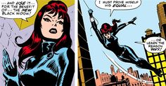Black Widow by John Romita Sr Dc Comics Women, Marvel Dc Comics, Marvel Heroes, Marvel Villains, Comic Book Superheroes, Comic Book Characters, Comic Books, Comic Character, Bucky And Natasha