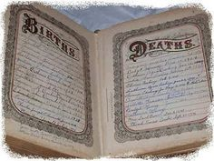 You just never know. An antique Bible containing information about your ancestors might be on E-Bay. Worth a search now and then, as most listing provide the surnames.