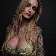 Tattooed Model Alyssa Barbara. #inked #model #tattooed #sexy #ink #tattoo #inkedgirls