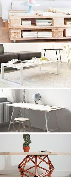diy projekt ein tisch aus baudielen pinterest diy projekte tisch und esstische. Black Bedroom Furniture Sets. Home Design Ideas