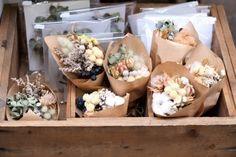 サンデービルヂングマーケットありがとうございました FLEURI blog ドライフラワーのミニブーケ dryflower