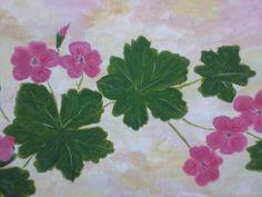 Garden Geraniums Pink