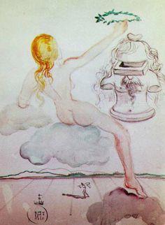 Salvador Dali  Homage to Philosophy 1976