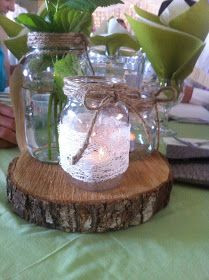 DIY Pinner: DIY Crafts: Wedding Decor - Rustic & Vintage