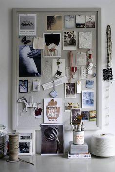 Home Office Inspiration Wall Cork Boards Ideas Inspiration Wand, Inspiration Boards, Design Inspiration, Monday Inspiration, Workspace Inspiration, Fashion Inspiration, Soho House, Photoshop Design, My Room