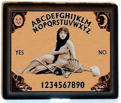 Vintage Ouija Board image from the Oracle Playing Cards Set