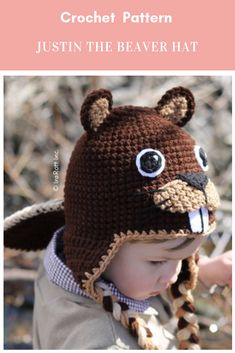 62747c3c2 8 Best beaver hat images in 2014 | Beaver hat, Crochet hats, Hats