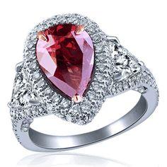 Fancy Color Engagement Rings