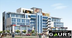 Gaursons group is a big and most reputed name in real estate world and now they have brought their new commercial project by the name of Gaur Sadar Bazaar & Gaur Wholesale Bazaar. Gaur