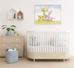 Baby Nursery Decor, Baby Bedroom, Nursery Wall Art, Bedroom Decor, Name Wall Decor, Home Decor Wall Art, Cute Animals Images, Watercolor Girl, Baby Dress Design
