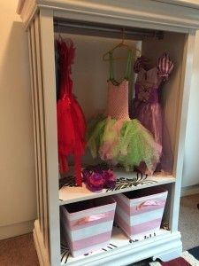 DIY Dress Up armoire