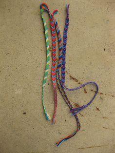 friendship bracelets!