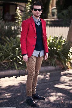 I red a man's coat