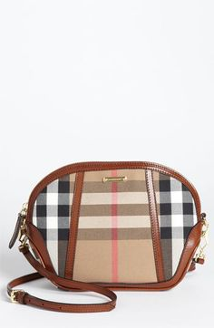 Burberry 'House Check' Crossbody Bag available at #Nordstrom