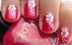 Hawaiian Nails with Zoya Kimber - Video Tutorial