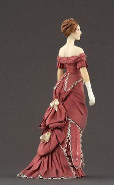 Tempus fugit....mors venit... — Carabosse Doll inspired in late 1870s fashion