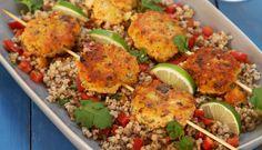 Salmon-balls à la Thai Healthy Food, Healthy Recipes, Frisk, Thai Recipes, Salmon, Seafood, Dinners, Tasty, Healthy Foods