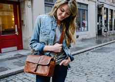 ONA   The Leather Bowery Camera Bag and Insert - Antique Cognac-this is the one I have. I LOVE it so very much!