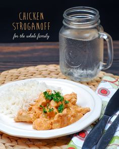 Mami Talks™: Chicken Stroganoff for the whole Family