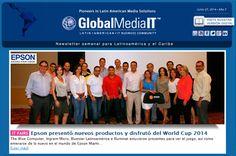 Termina tu weekend con nuestra reciente newsletter....todo sobre el mundo de tecnología a tu alcance con GlobalMedia....