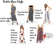 How to Wear a Maxi Skirt or Maxi Dress for Your Body Shape - Inside Out Style