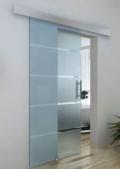 Modern Glass Sliding Door Designs Ideas For Yout Bathroom 13 - April 27 2019 at Decoration Hall, Decorations, Sliding Door Design, Sliding Door For Bathroom, Internal Glass Sliding Doors, Glass Bathroom Door, Sliding Cupboard, Sliding Wall, Bathroom Closet