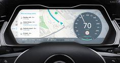 Automotive UI concept on Behance