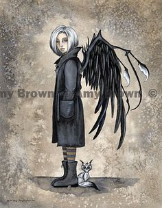 PRINTS-OPEN EDITION - Misfits - Amy Brown Fairy Art - The Official Gallery