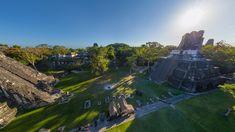 Maya Pyramids, Tikal,Guatemala