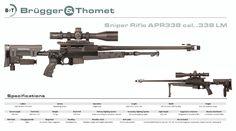B&T - Sniper Rifle APR338 cal. .338 LM