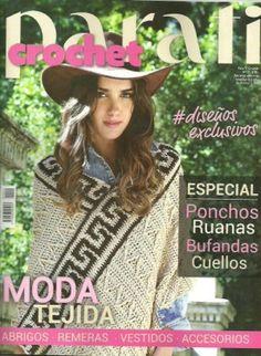 PARA TI CROCHET Knitting Magazine, Crochet Magazine, Crochet Books, Knit Crochet, Loom Knitting, Knitting Patterns, Simply Crochet, Veronica, Magazines