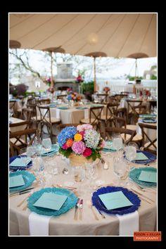 Boston Wedding Photography, Boston Event Photography, Summer Tented Wedding Reception, Summer Wedding Flowers, Seaside Wedding Flowers, Summer Wedding Inspiration, Colorful Wedding Flowers, Colorful Floral Centerpiece