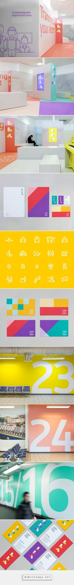London Luton Airport Branding by Ico Design | Inspiration Grid | Design Inspiration http://theinspirationgrid.com/london-luton-airport-branding-by-ico-design/