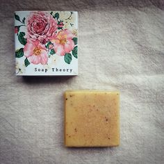 Calming soap by Soap Theory, Bangkok Thailand.