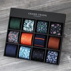 There are few things as important in a man's wardrobe as his tie collection - it can make or break a perfect look.   #grandfrank www.Grandfrank.com