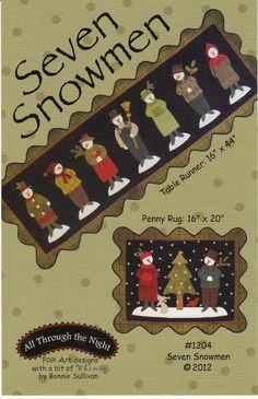 Seven Snowmen By Sullivan, Bonnie