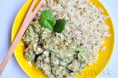 Kuracie soté s brokolicovo-nivovou omáčkou - FitRecepty