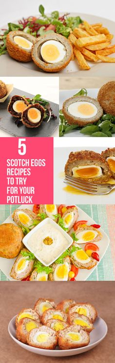 People are becoming more conscious of what they eat, this classic scotch egg recipe has taken up many healthier avatars! Here are top 5 scotch egg recipes to try for your potluck Egg Recipes, Cooking Recipes, Healthy Recipes, Cooking Eggs, Scotch Eggs Recipe, How To Cook Eggs, Good Food, Fun Food, Food For Thought