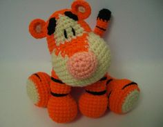 KISS Bounce the Tiger  http://www.ravelry.com/patterns/library/kiss-series---bounce-the-tiger