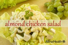 Almond chicken salad: This family favorite is great for picnics and other gatherings. #recipe http://www.allinahealth.org/Health-Conditions-and-Treatments/Eat-healthy/Recipes/Salads/Almond-chicken-salad/