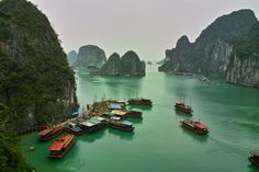 Ha Long Bay has long been invisible on the maps of sailors. It was only in the nineteenth century that it appeared in the way of a French sailor...