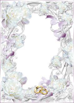 Delicate Transparent Wedding Photo Frame Wedding Frames, Wedding Pics, Wedding Cards, Wedding Congratulations Card, Digital Photo Frame, Wedding Posters, Birthday Frames, Wedding Scrapbook, Wedding Paper