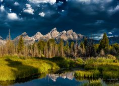 Approaching Storm  - Grand Tetons by Brent Clark / 500px
