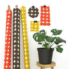 Stoff grafische Muster - Interiorstoff - Pebble - Smudge - ein Designerstück von stoffsalon bei DaWanda