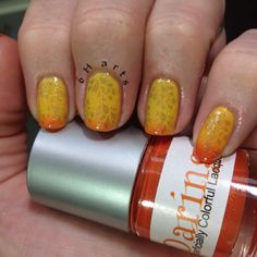 Superficially Colorful Daring with subtle gold stamping