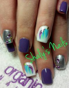 Acrylic nails by Shaly