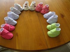 chaussons couture pour les prémas