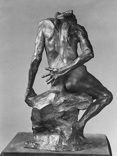 Back The Old Courtesan (La Belle qui fut heaulmière) Artist:Auguste Rodin (French, Paris 1840–1917 Meudon) Date:modeled probably ca. 1885, cast 1910Culture:FrenchMedium:Bronze