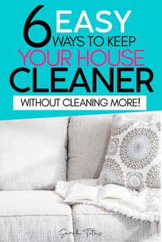 8 ways to keep your house clean longer. These tips will help you keep your house clean longer without any extra cleaning! Don't miss these brilliant cleaning tips! House Cleaning Tips, Deep Cleaning, Spring Cleaning, Cleaning Hacks, Declutter Your Home, Organizing Your Home, Organization Ideas, How To Get Motivated, Cleaning Solutions